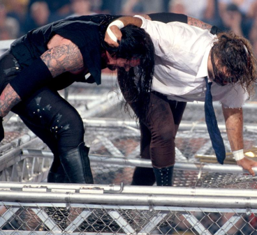 Mankind_vs_The_Undertaker_Hell_in_a_Cell_Match_King_of_the_Ring_1998_7