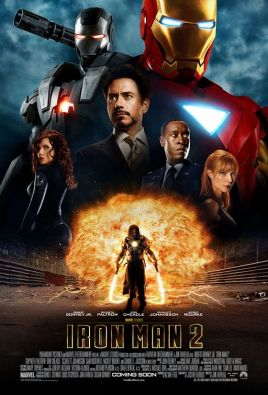 Iron Man 2 Final Theatrical One Sheet Movie Poster